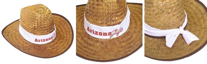 custom logo cowboy hat