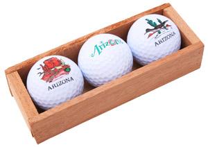 arizona golf ball promo gifts